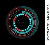 illustration of an interface...   Shutterstock .eps vector #130710446