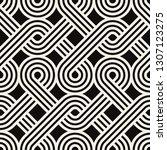 vector seamless pattern. modern ... | Shutterstock .eps vector #1307123275