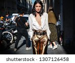 paris  france  september 27... | Shutterstock . vector #1307126458