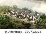 buildings made in 3d | Shutterstock . vector #130713326