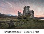 Ardvreck Castle  Sutherland...