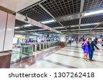 singapore  may 15 2018   mass... | Shutterstock . vector #1307262418