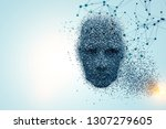 artificial intelligence and... | Shutterstock . vector #1307279605