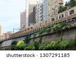 tokyo  japan. 2018 oct 24th....   Shutterstock . vector #1307291185