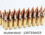 hunting cartridges of caliber... | Shutterstock . vector #1307336425