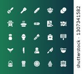 cooking icon set. collection of ... | Shutterstock .eps vector #1307341582