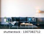3d render of beautiful interior ... | Shutterstock . vector #1307382712