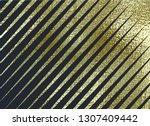 gold pattern. abstract golden... | Shutterstock .eps vector #1307409442