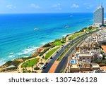 netanya promenade from above