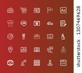 editable 25 ui icons for web...