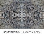 old grey weathered grey timber  ... | Shutterstock . vector #1307494798