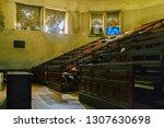 interior view of empty...   Shutterstock . vector #1307630698