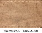 the two horizontal stitching on ... | Shutterstock . vector #130765808
