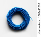 A Round Skein Of Blue Line For...