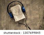 audio books concept.... | Shutterstock . vector #1307699845