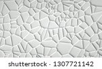 abstract stone texture white... | Shutterstock . vector #1307721142