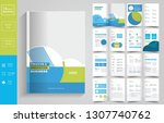 16 pages  education brochure... | Shutterstock .eps vector #1307740762