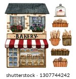 Bakery Shop And Baked Goods...