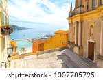 small square in old town of... | Shutterstock . vector #1307785795