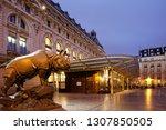 paris  france   january 12 ...   Shutterstock . vector #1307850505