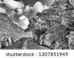 dacres pulpit in the historic... | Shutterstock . vector #1307851945