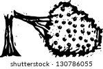 black and white vector... | Shutterstock .eps vector #130786055