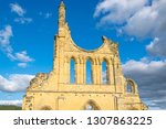 Byland Abbey In The North...