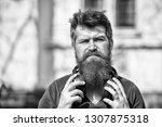 get music subscription.... | Shutterstock . vector #1307875318