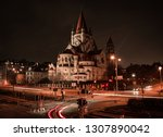 long exposure shot of the franz ... | Shutterstock . vector #1307890042