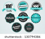 set of vector badges | Shutterstock .eps vector #130794386