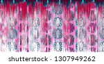 colorful detailed abstract... | Shutterstock . vector #1307949262