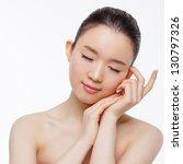 asian woman beauty shot... | Shutterstock . vector #130797326