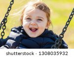 beautiful toddler girl having... | Shutterstock . vector #1308035932
