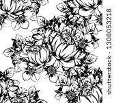 flower print. elegance seamless ...   Shutterstock .eps vector #1308053218