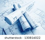 the part of architectural... | Shutterstock . vector #130816022