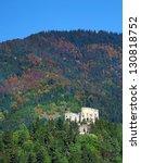 likava castle ruin surrounded... | Shutterstock . vector #130818752