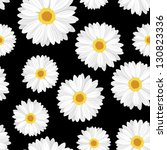seamless background with daisy... | Shutterstock .eps vector #130823336