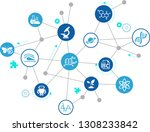 science concept   various... | Shutterstock .eps vector #1308233842