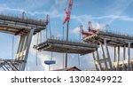 genova  genoa  italy   february ... | Shutterstock . vector #1308249922