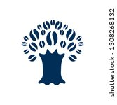 isolated tree icon symbol on...   Shutterstock .eps vector #1308268132