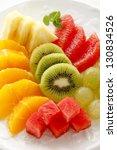 cut fruit | Shutterstock . vector #130834526