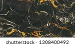 black marble texture with...   Shutterstock . vector #1308400492