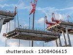 genova  genoa  italy   february ... | Shutterstock . vector #1308406615
