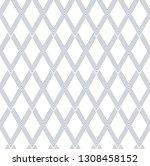 seamless diamonds pattern.... | Shutterstock .eps vector #1308458152
