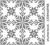 cross stitch  seamless... | Shutterstock .eps vector #1308468988