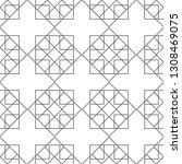 seamless geometric pattern.... | Shutterstock .eps vector #1308469075