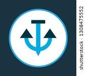anchor icon colored symbol....