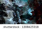 abstract colorful texture... | Shutterstock . vector #1308625318