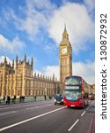 houses of parliament and... | Shutterstock . vector #130872932