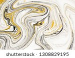 mixture of acrylic paints.... | Shutterstock . vector #1308829195